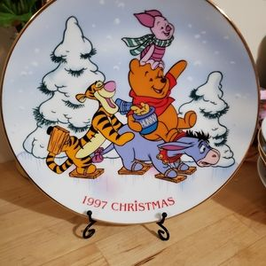Grolier collection Disney Christmas 1997 plate